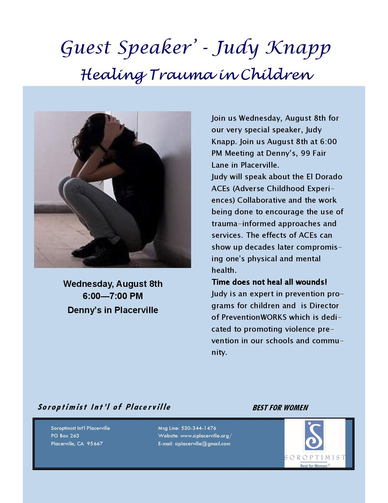 Join us to learn about childhood trauma & healing!