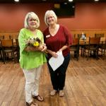 Pictured L to R: Judy Brooks, Director; Deb Rice, President