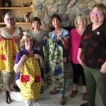 SI of Placerville sew for Dress A Girl Campaign