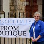 Prom Boutique 2016 with Deb Rice, chair